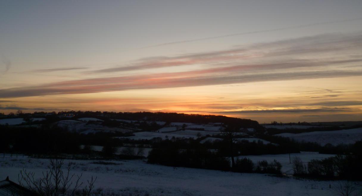 Snowy England by Aderes-Devorah