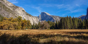 Yosemite Valley - view on Half Dome