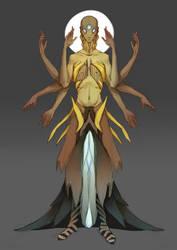 Goddess of Folic Acid by rah-t