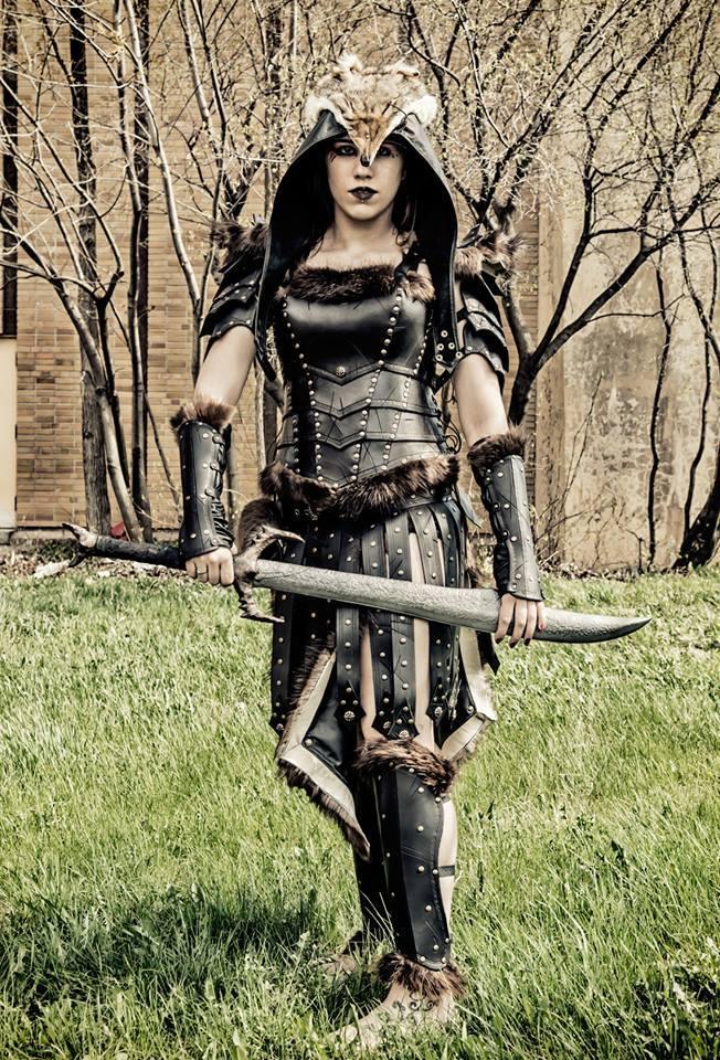 Armure Freya barbare - Freya barbarian armor 2 by Damiane