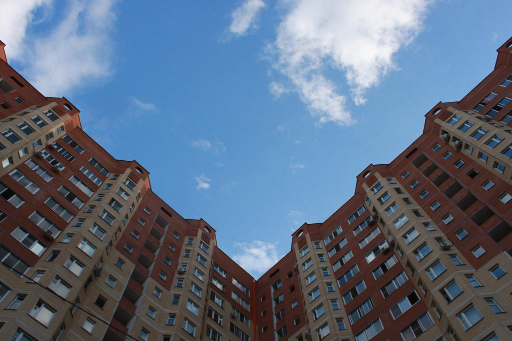 City symmetry by KeiSuperstar