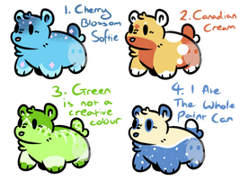 (Cheap) Chubb Bear Adopts [OPEN 3/4]
