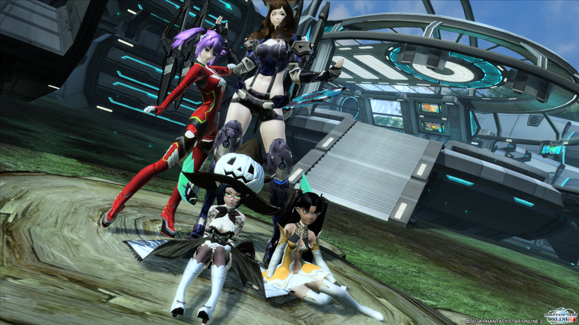 Phantasy Star Online 2 - Team Group Picture by SoraSynnTS3