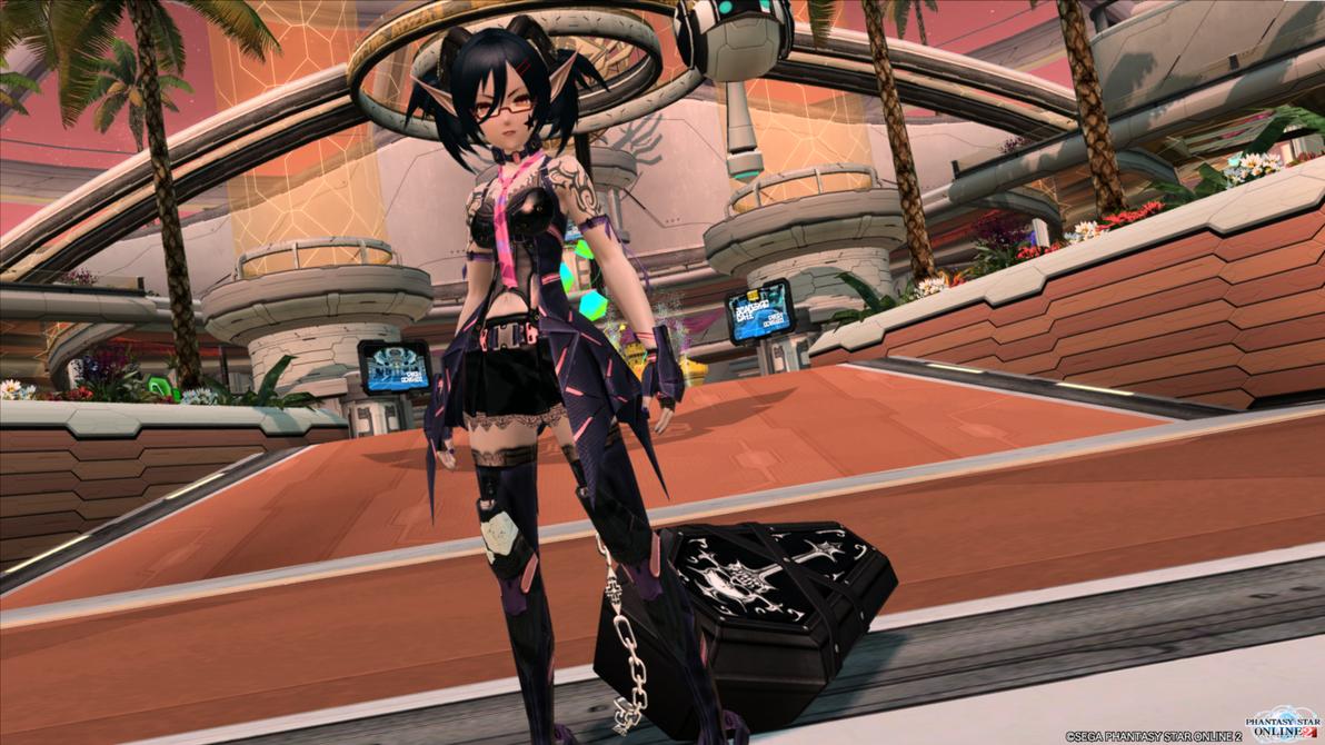Phantasy Star Online 2 - Trixxie's a Heartbreaker. by SoraSynnTS3