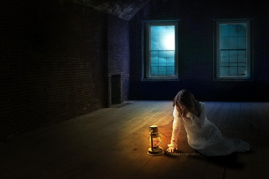 Sad Girl - PhotoManipulation by AlisonEnchanted