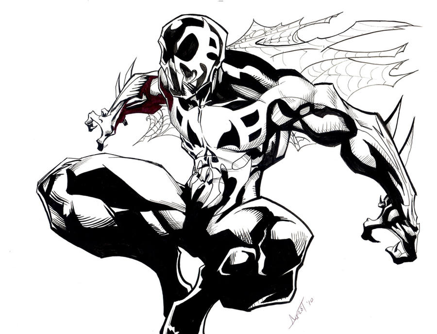 Spider man 2099 by alfret on deviantart for Spider man 2099 coloring pages