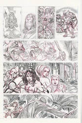 Wonder Woman sample page No 3 by alfret