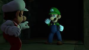 SFM:Mario Vs Luigi