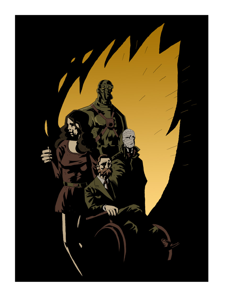 The Doom Patrol By The Mirrorball Man On Deviantart