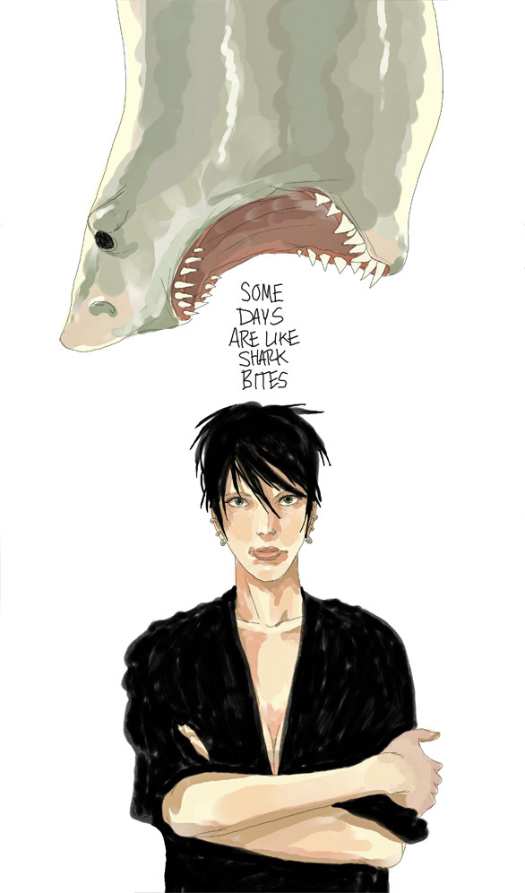 Shark Bites by The-Mirrorball-Man