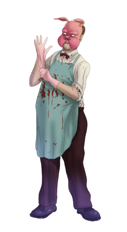 Professor Pyg by The-Mirrorball-Man