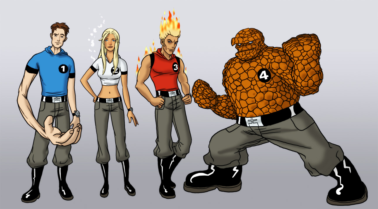 The Fantastic Four by The-Mirrorball-Man