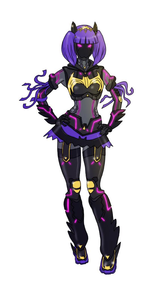 Sentai Batgirl by The-Mirrorball-Man