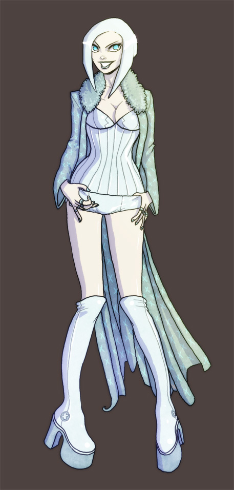 Emma Frost by The-Mirrorball-Man