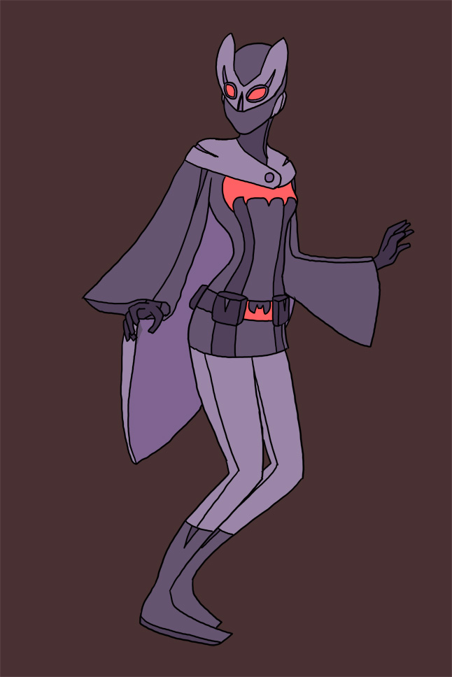 Ghost Batgirl by The-Mirrorball-Man