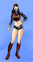 Wonder Woman by The-Mirrorball-Man
