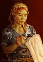 Making Batik by diensilver