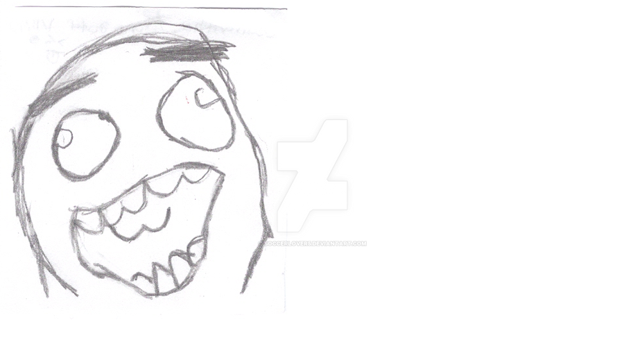 Happy Big Smile Rage Face by soccerlover5 on DeviantArt