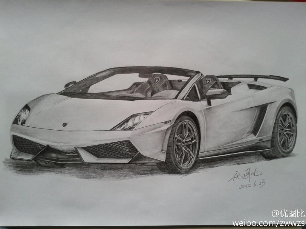 Drawing Lamborghini LP570-4 by youtubi on DeviantArt