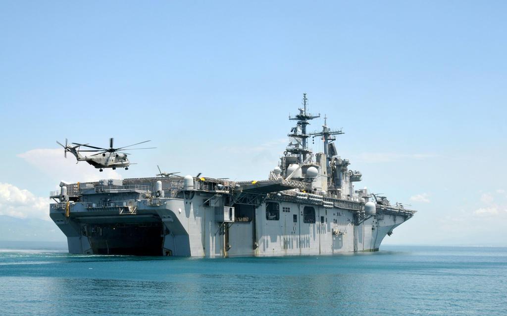 USS Kearsarge LHD-3 by gandiusz