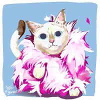 Lets Draw Mewjestic Cat by Gorebit