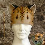 Realistic cheetah hat by Mystic-Creatures