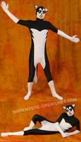 Black'n'white spandex husky 2