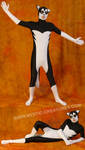 Black'n'white spandex husky 2 by Mystic-Creatures