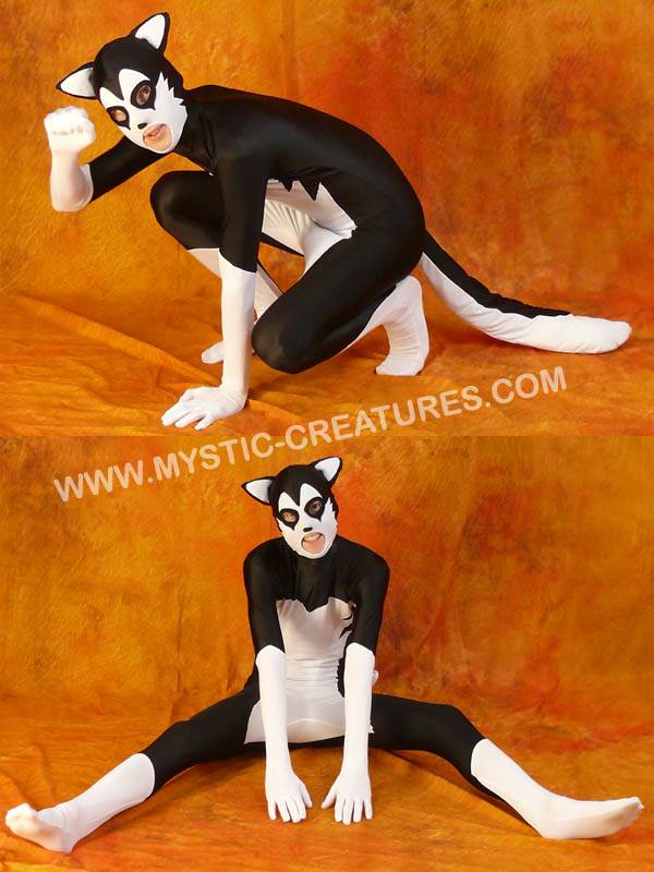 Black'n'white spandex husky 1 by Mystic-Creatures