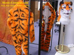Lucky Tiger Fursuit - Work in progress