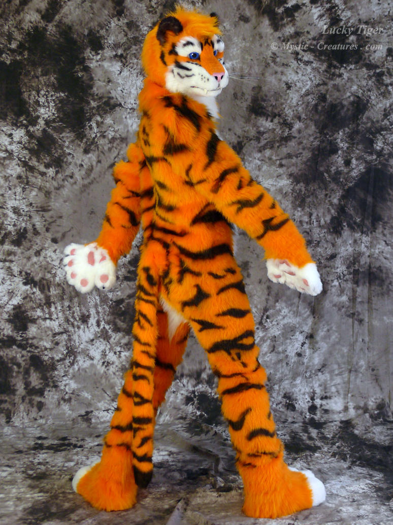 lucky tiger fursuit photoshoot 01 by mystic creatures on