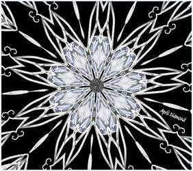 April....Diamond by sparx222