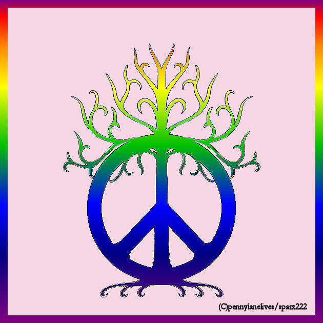 Peace tree tattoo design by sparx222 on deviantart