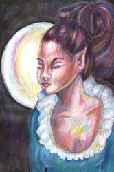 Moonelf by soulstorage