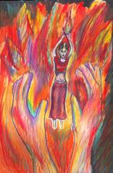 Flamedancer by soulstorage