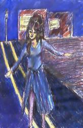 Street Wanderer by soulstorage