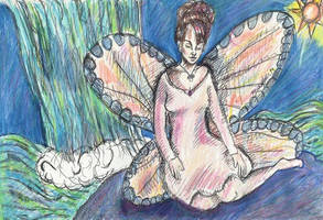 Waterfall Faerie