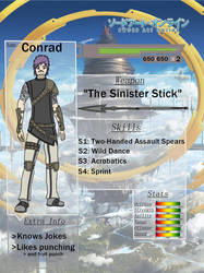 Aincrad Adventures: Conrad by CromaSins45
