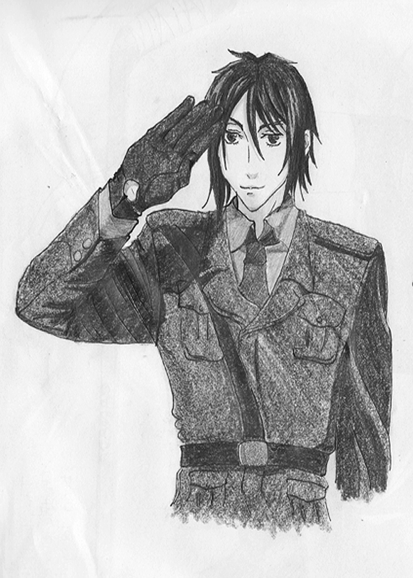 The Butler, One Hell of a Soldier by Shinigami-no-Miko