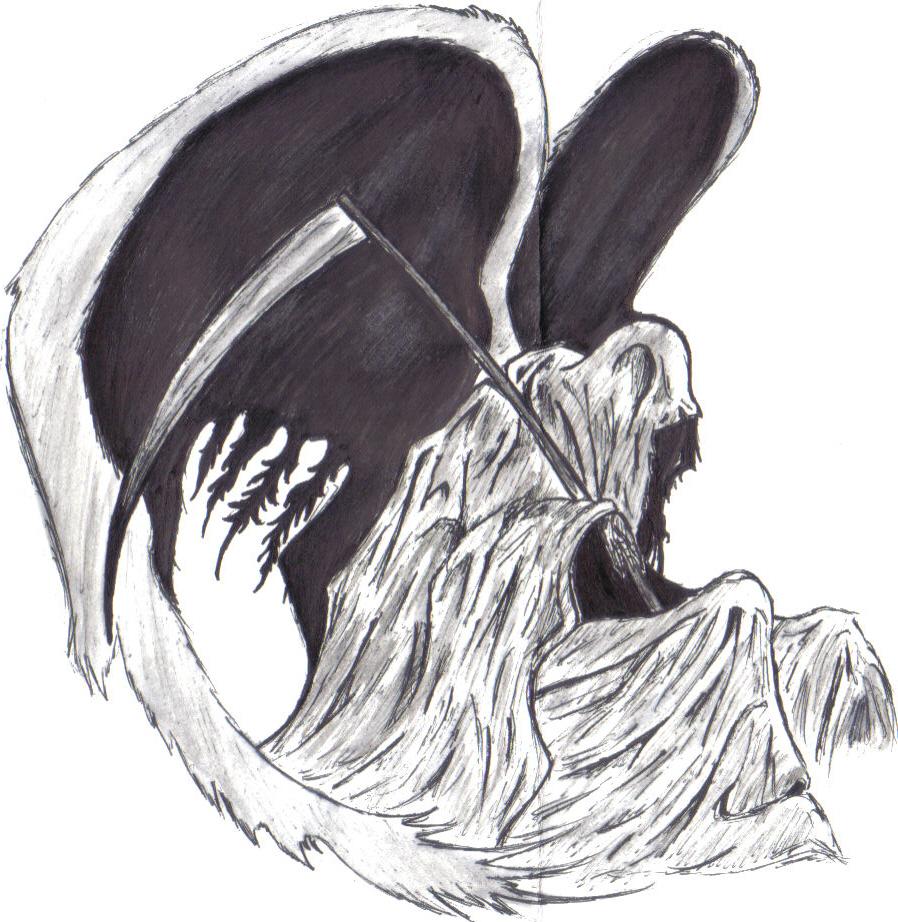 Grim Reaper by sweetnshykitten on DeviantArt