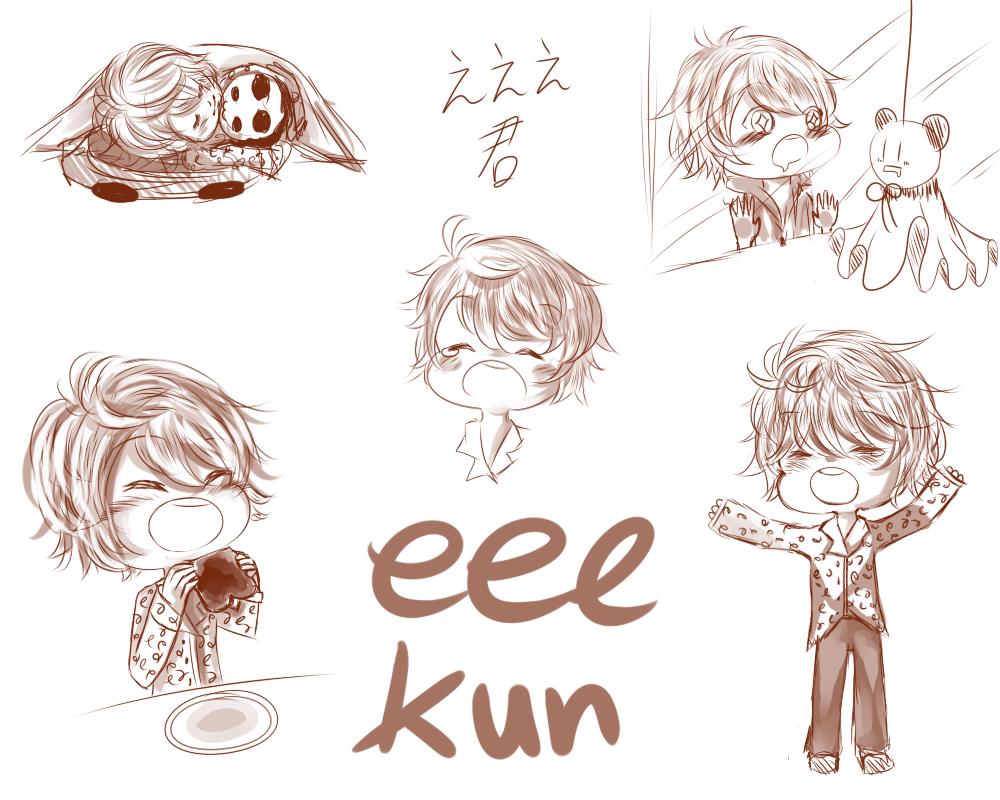 eee-kun doodle page by Curulin