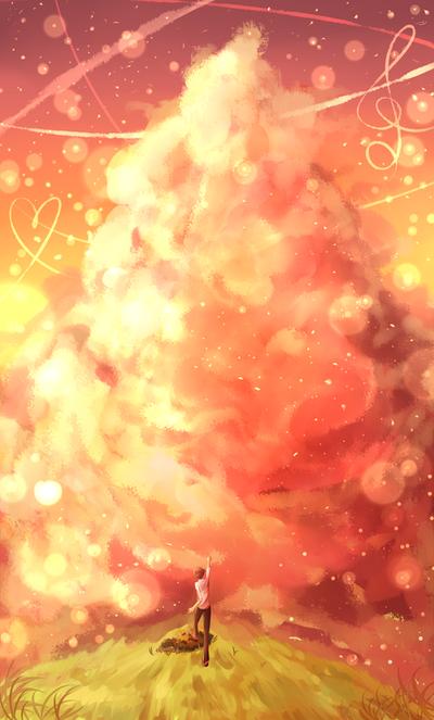Towards Tomorrow [HBD Kuro!] by Curulin