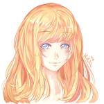 just coloring practice by Curulin
