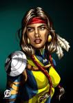 Danielle Moonstar Illustration - X-Men by Orb78