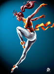 Wind Dancer Illustration - X-Men