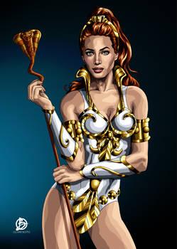 Teela Illustration - Masters Of The Universe