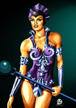 Evil Lyn Illustration - Masters Of The Universe