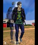 Young Multiple Man Illustration - X-Men