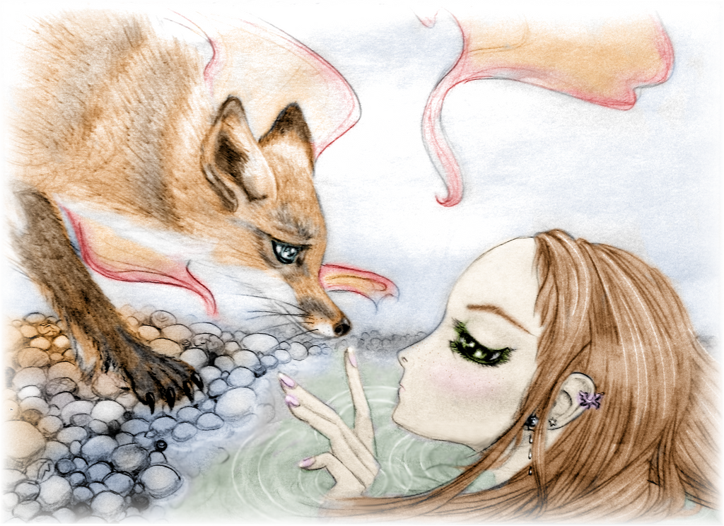 The Mermaid and the Fox by noelle23