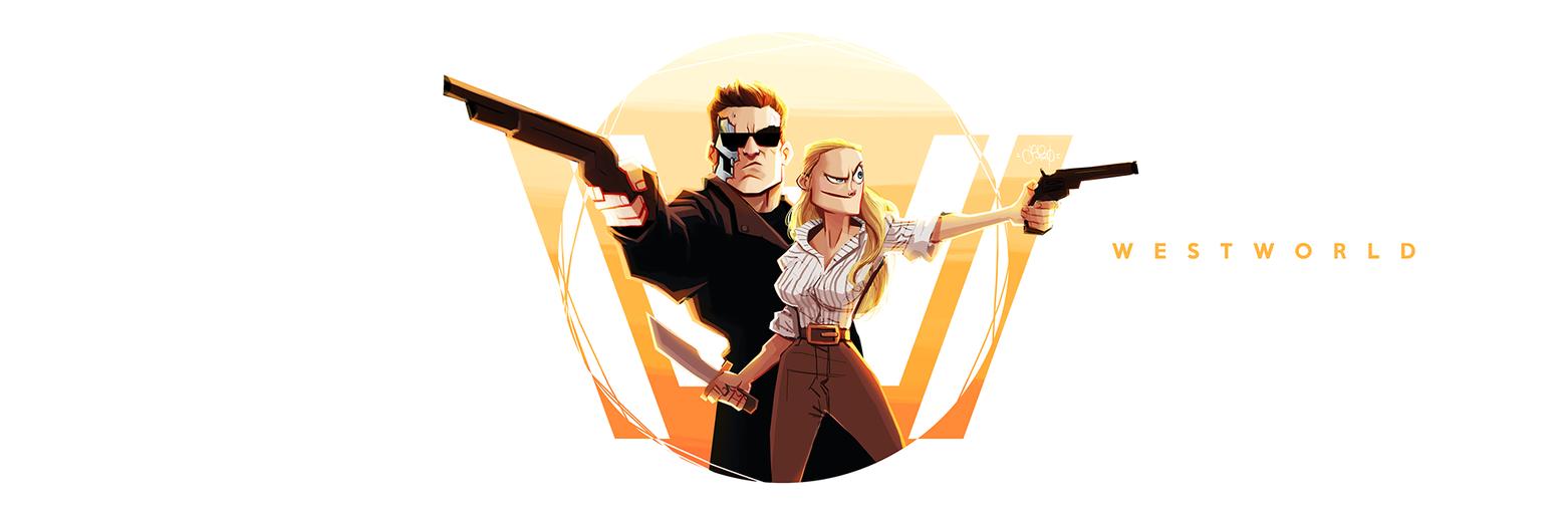 FanArt #Westworld by Anthony-g09